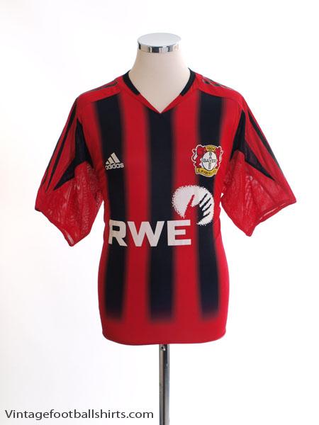 2004-06 Bayer Leverkusen Home Shirt L