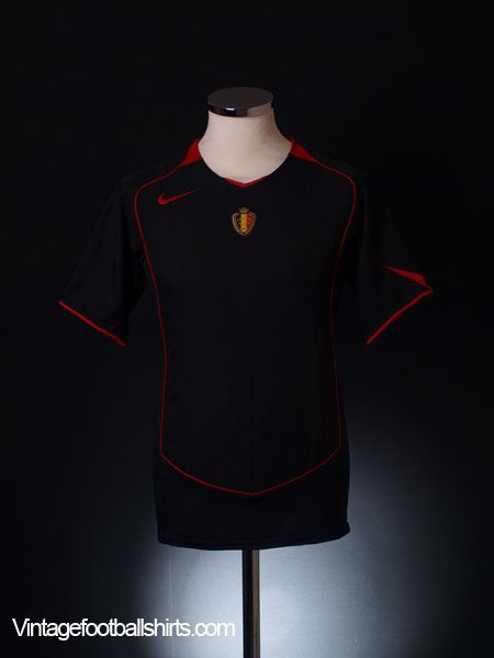2004-06 Belgium Away Shirt XL