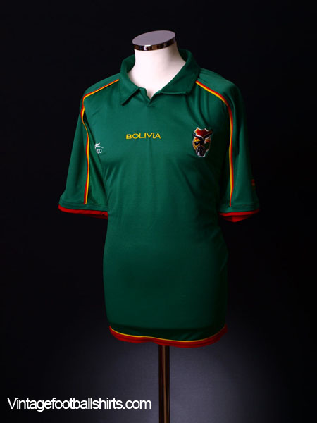 2004-06 Bolivia Home Shirt *As New* L