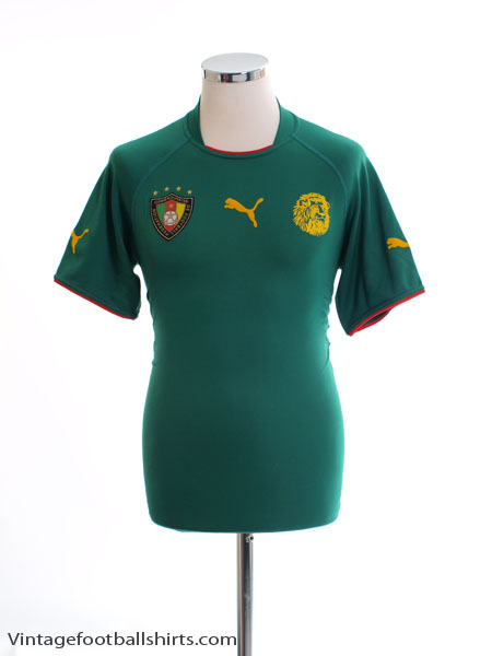 2004-06 Cameroon Home Shirt S