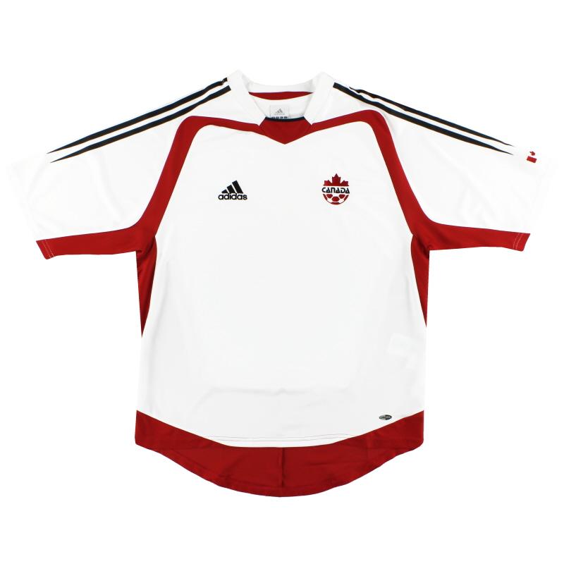 2004-06 Canada adidas Away Shirt *Mint* M - 644018