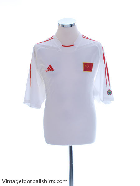 2004-06 China Away Shirt *w/tags* L - 607936