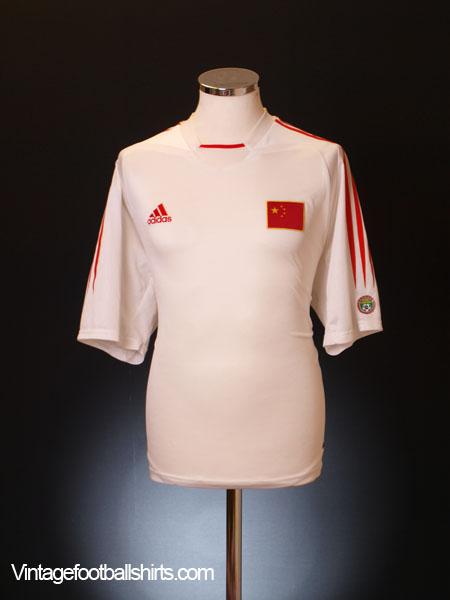 2004-06 China Home Shirt M