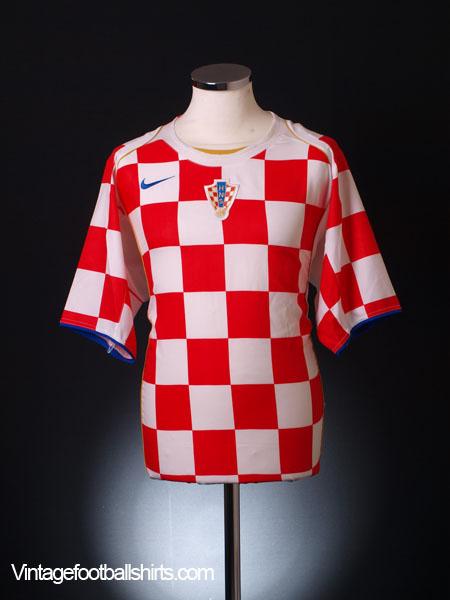 2004-06 Croatia Home Shirt XL