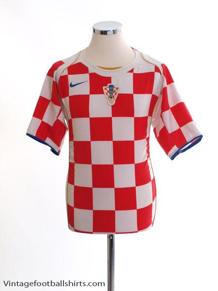 2004-06 Croatia Home Shirt XL - 116604