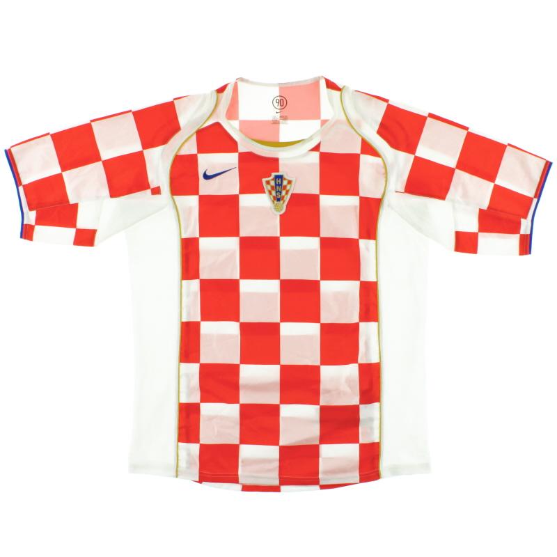 2004-06 Croatia Home Shirt L - 116604