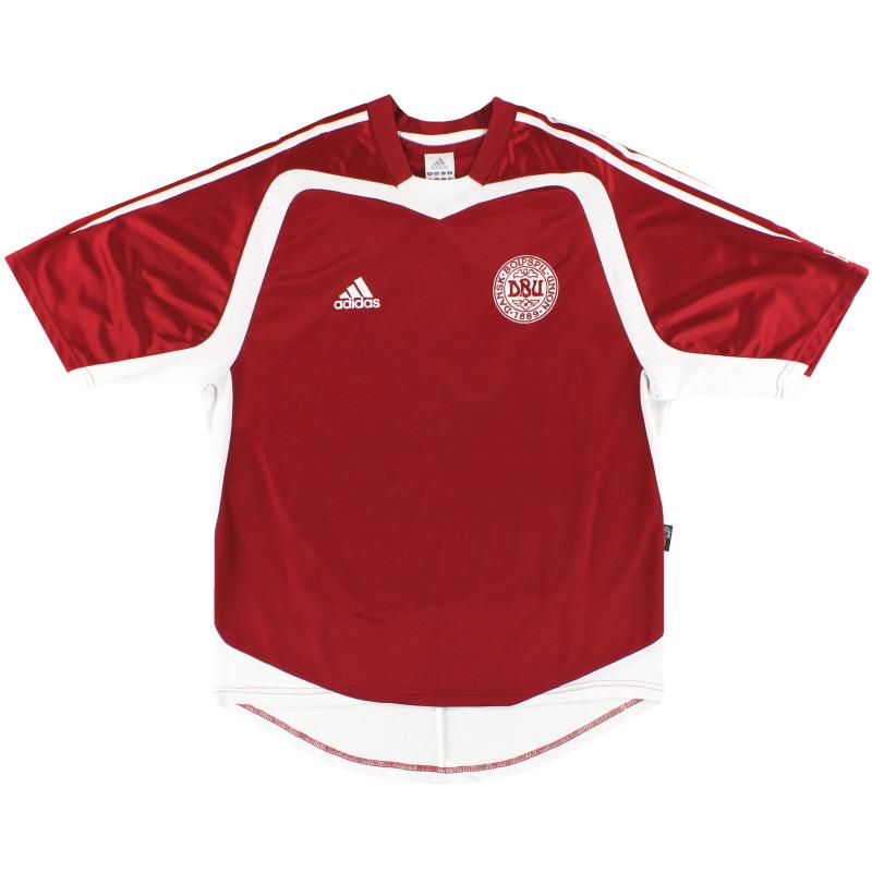 2004-06 Denmark adidas Home Shirt S