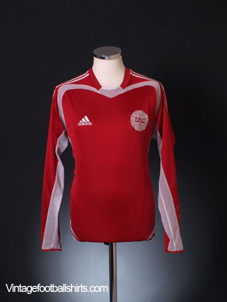 2004-06 Denmark Home Shirt L/S M