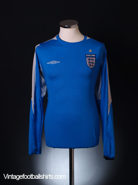 2004-06 England Goalkeeper Shirt L