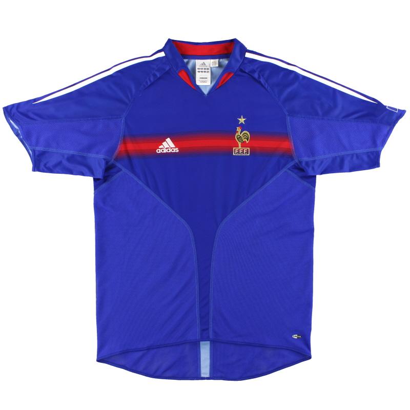 2004-06 France adidas Home Shirt M - 641768