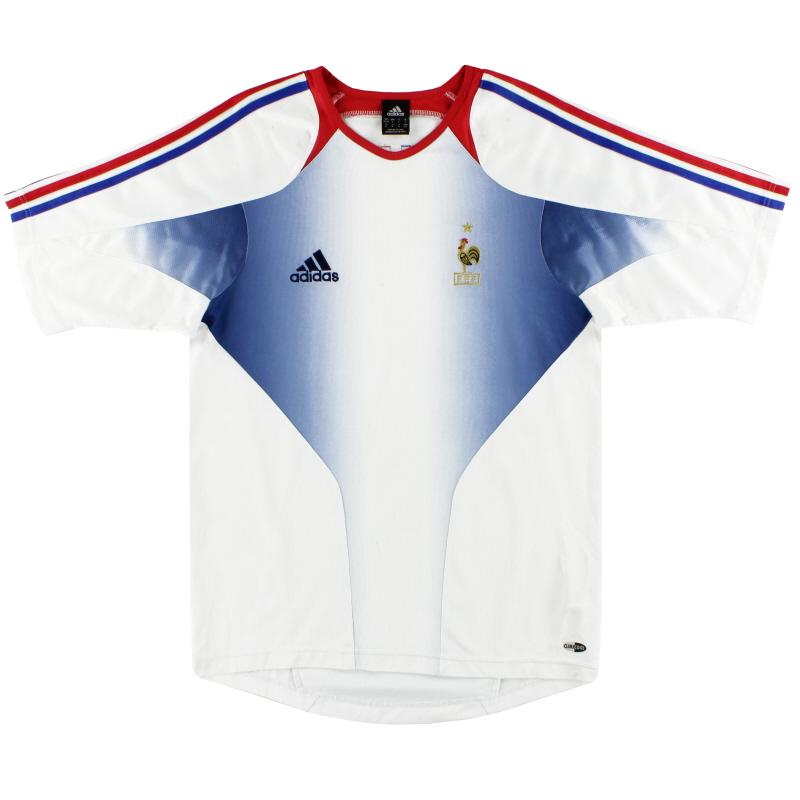 2004-06 France adidas Training Shirt S - 641182