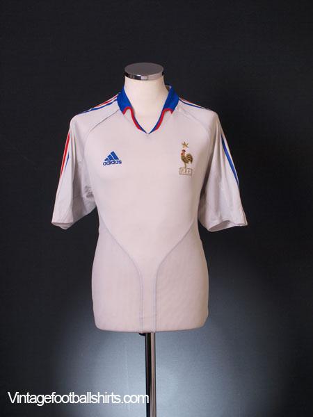 2004-06 France Away Shirt S
