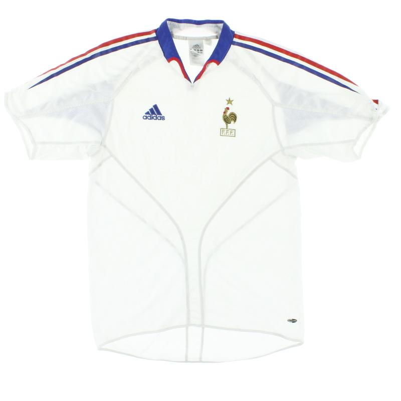 2004-06 France Away Shirt M - 641756