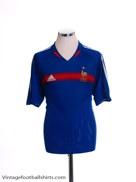 2004-06 France Home Shirt M - 641768