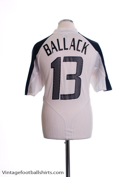 2004-06 Germany Home Shirt Ballack #13 *As New* M