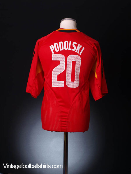 2004-06 Germany Third Shirt Podolski #20 XXL