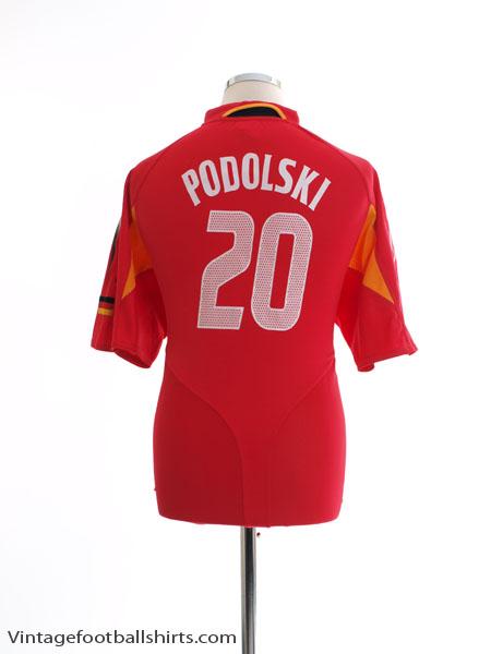 2004-06 Germany Third Shirt Podolski #20 XL