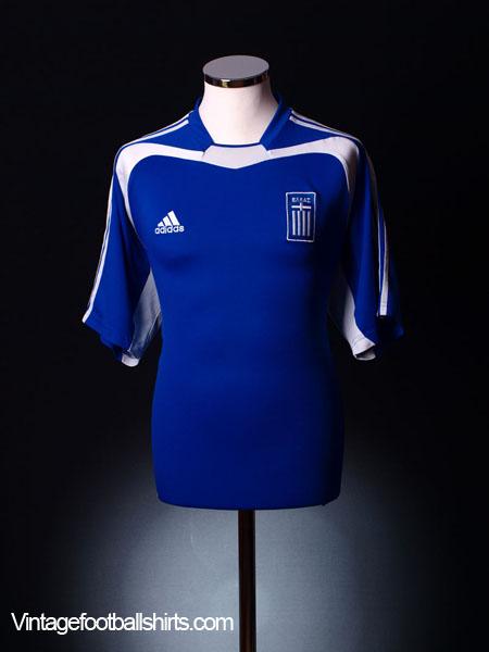 2004-06 Greece Home Shirt XL