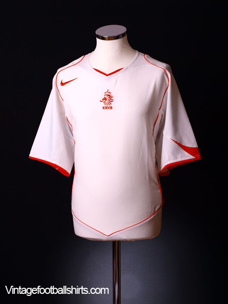 2004-06 Holland Away Shirt L