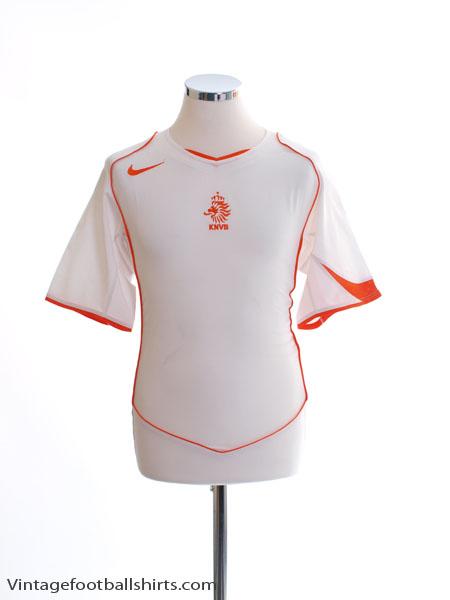 2004-06 Holland Away Shirt S