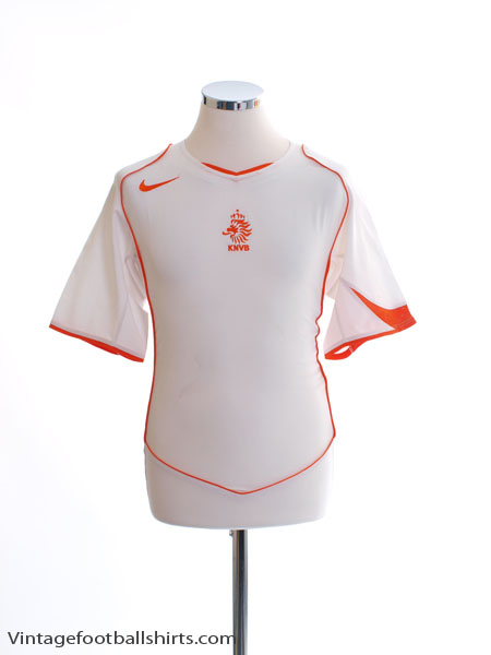 2004-06 Holland Away Shirt XL - 116606
