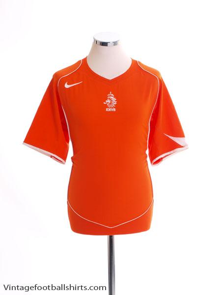 2004-06 Holland Home Shirt S