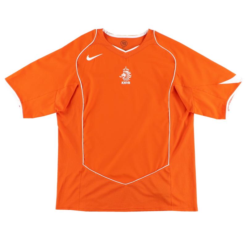 2004-06 Holland Home Shirt L - 116606