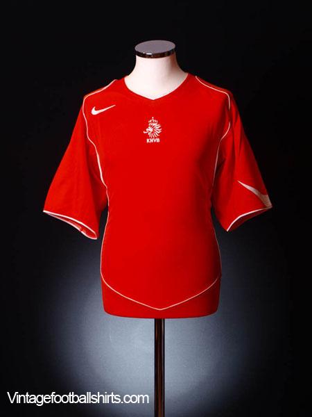 2004-06 Holland Home Shirt XL