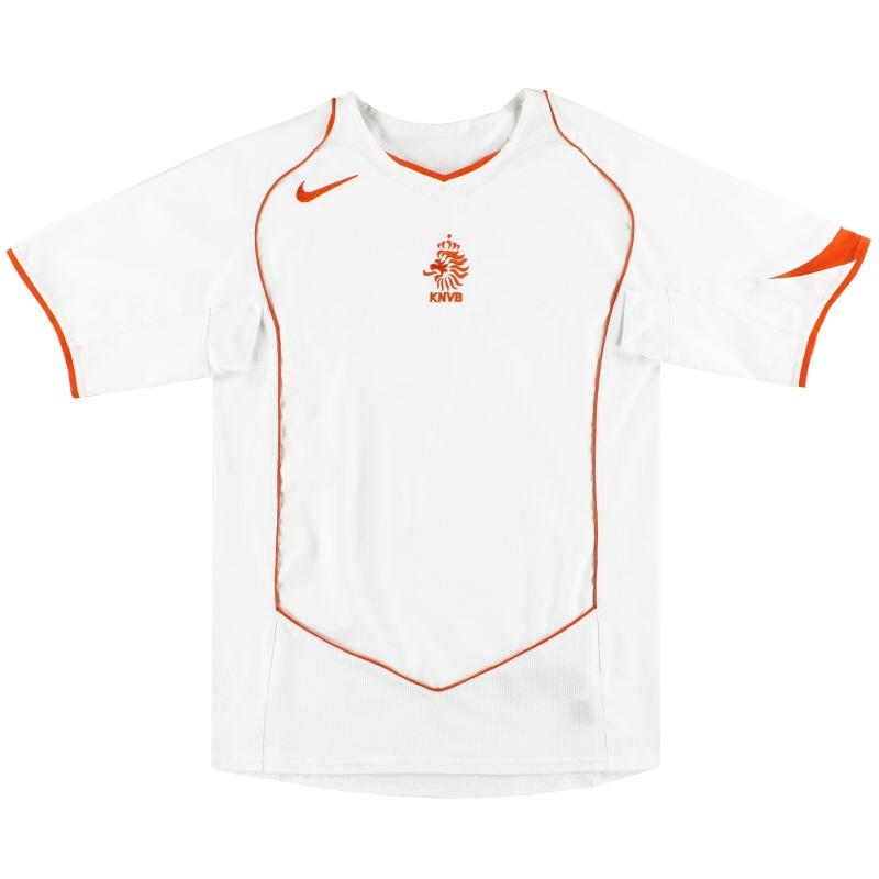 2004-06 Holland Nike Away Shirt S - 116606