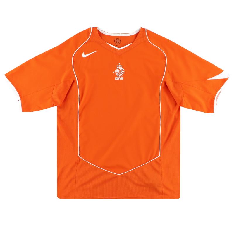 2004-06 Holland Nike Home Shirt *Mint* L - 116606