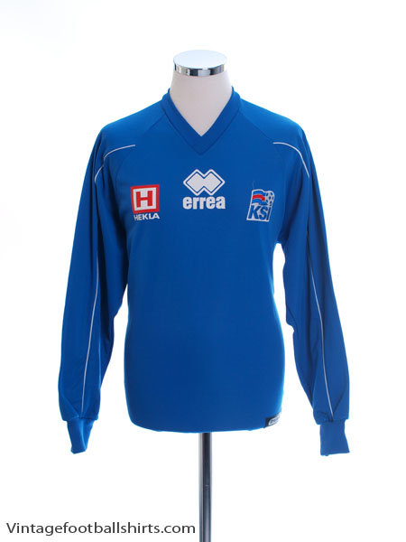 2004-06 Iceland Errea Training Jumper L