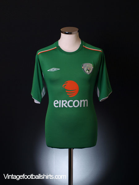 2004-06 Ireland Home Shirt *Mint* L