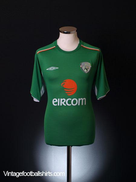 2004-06 Ireland Home Shirt L