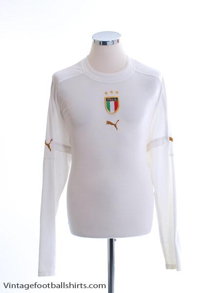 2004-06 Italy Away Shirt L/S XXL