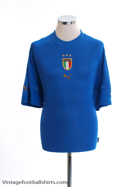 2004-06 Italy Home Shirt S