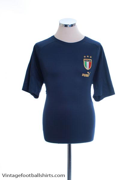 2004-06 Italy Puma Training Shirt XL
