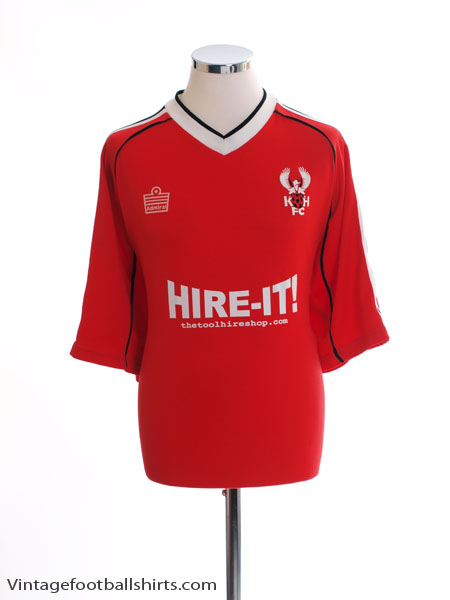 2004-06 Kidderminster Harriers Home Shirt XL