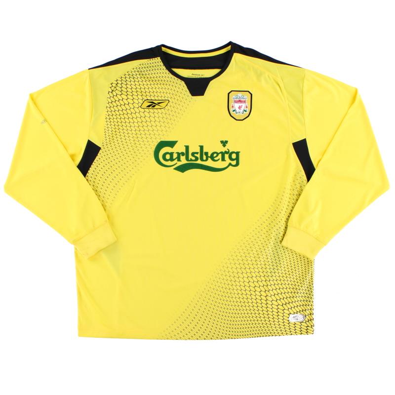 2004-06 Liverpool Away Shirt L/S XXL