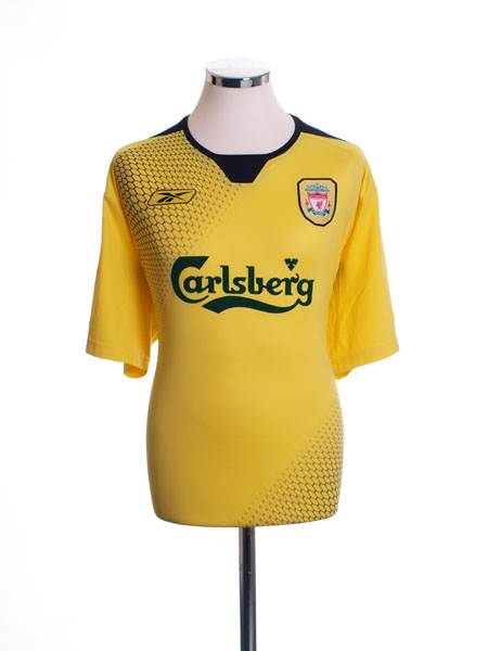 2004-06 Liverpool Away Shirt S