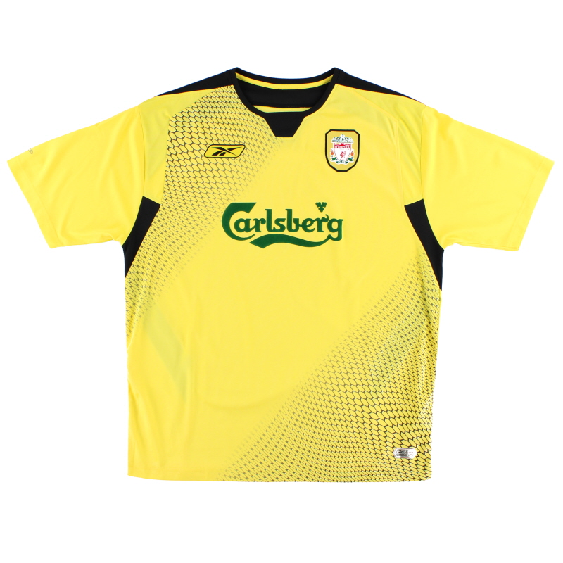 2004-06 Liverpool Away Shirt XS - ACMF4015-005
