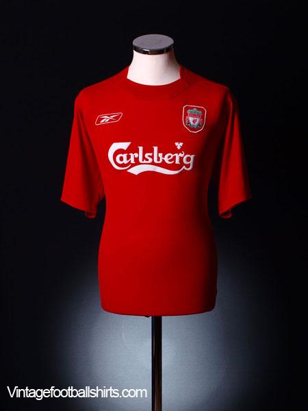 2004-06 Liverpool Home Shirt XS
