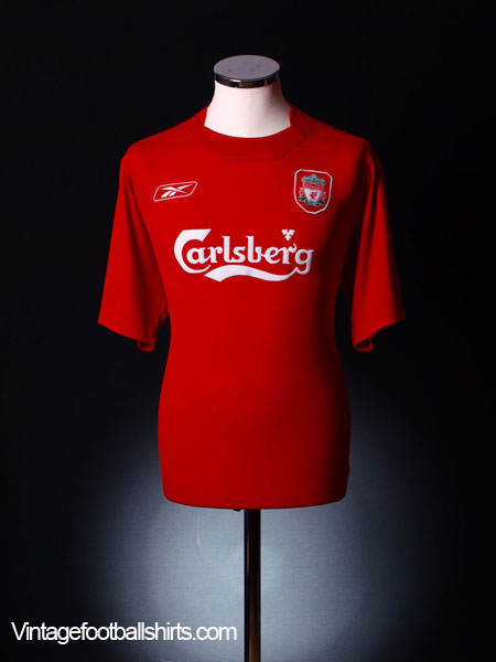 2004-06 Liverpool Home Shirt XS
