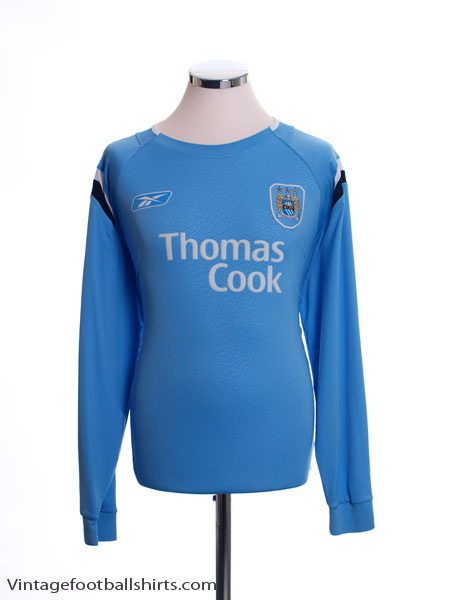 2004-06 Manchester City Home Shirt L/S L