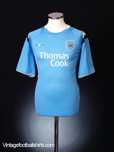 2004-06 Manchester City Home Shirt L