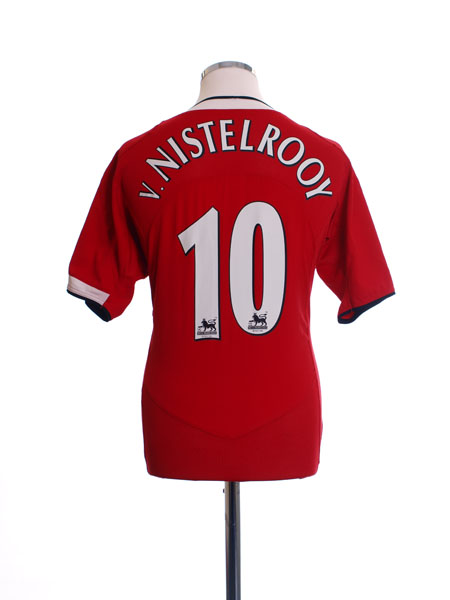 2004-06 Manchester United Home Shirt v.Nistelrooy #10 M