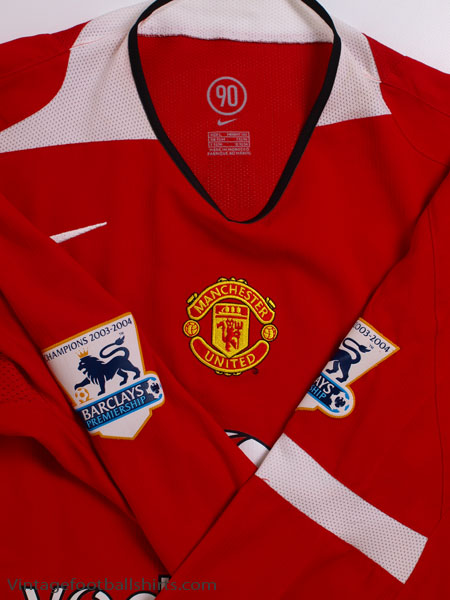 f50d4011c 2004-06 Manchester United Home Shirt Keane  16 L S  Mint  L for sale