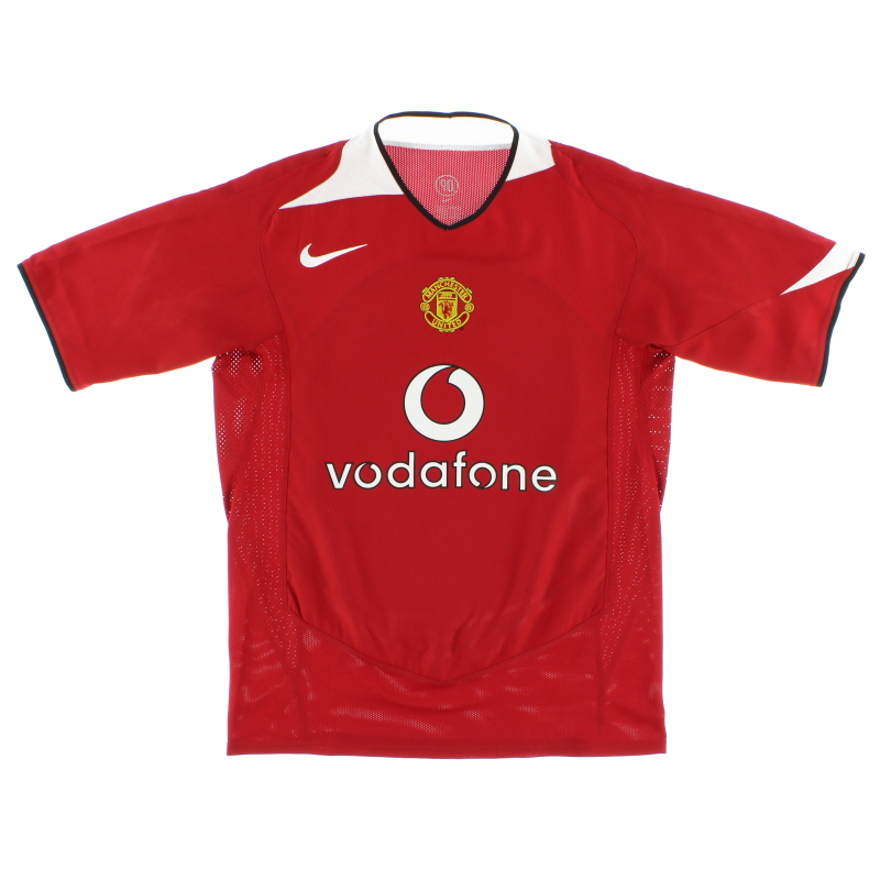 2004-06 Manchester United Home Shirt M - 118834