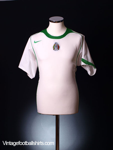 2004-06 Mexico Away Shirt L