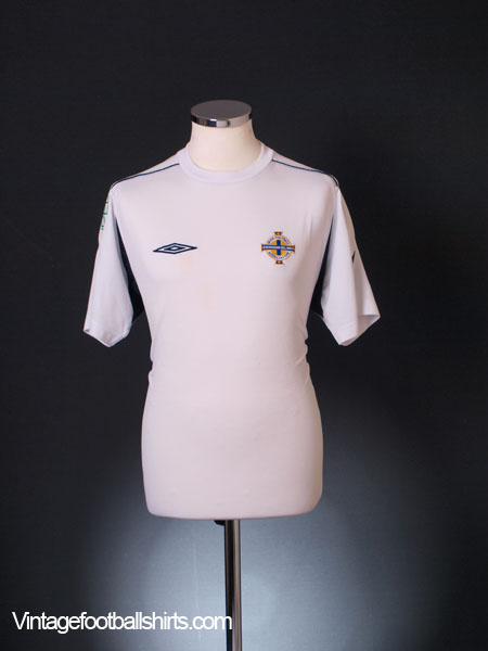 2004-06 Northern Ireland Training Shirt M