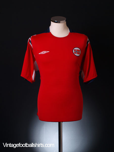 2004-06 Norway Home Shirt XL